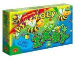 Pracowite pszczoły, leniwe żaby - 2 gry planszowe,