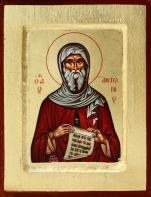 Ikona Święty Antoni - mała - ,