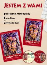 """Komplet dla nauczycieli - Klasa 8 """"Jestem z wami"""" - Pakiet dla katechetów do klasy VIII szkoły podstawowej, red. Władysław Kubik SJ"""