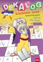 Dekalog - Krzyżówki, quizy, kolorowanki, szyfry dla dzieci, Michał Wilk