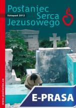 Posłaniec Serca Jezusowego - listopad 2012 - , Ks. Stanisław Groń SJ (red.nacz.)