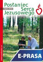 Posłaniec Serca Jezusowego - lipiec 2013 - , Ks. Stanisław Groń SJ (red.nacz.)