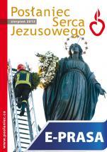 Posłaniec Serca Jezusowego - sierpień 2013 - , Ks. Stanisław Groń SJ (red.nacz.)
