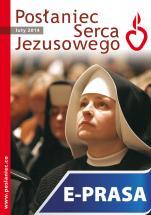 Posłaniec Serca Jezusowego - luty 2014 - , Ks. Stanisław Groń SJ (red.nacz.)