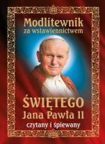 Modlitewnik za wstawiennictwem świętego Jana Pawła II CD - Czytany i śpiewany,