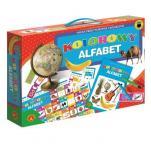 Kolorowy alfabet  - Nauka przez patrzenie i kojarzenie,