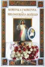 Koronka i nowenna do Miłosierdzia Bożego + różaniec / Wyprzedaż - + różaniec,
