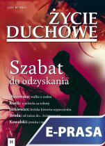 Życie Duchowe 87/2016 (Lato) - Szabat do odzyskania, Jacek Siepsiak SJ (red.nacz.)