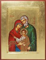 Ikona Święta Rodzina (Józef stary średnia) - ,