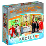 Sakramenty wtajemniczenia chrześcijańskiego (puzzle) - ,