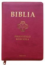Biblia pierwszego Kościoła (na zamek, purpurowa) - ,