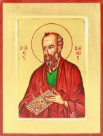 Ikona Święty Paweł Apostoł bardzo mała - ,