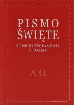 Pismo Święte Nowego Testamentu i Psalmy czerwone - ,