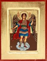 Ikona Święty Michał Archanioł chmurka duża - ,