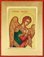 Ikona Święty Michał Archanioł mała skrzyżowane ręce - ,