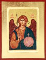 Ikona Święty Michał Archanioł średnia kula - ,