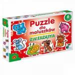 Zwierzątka - Puzzle dla maluszków - Puzzle dla maluszków,