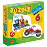 Puzzle dla maluszków lokomotywa - ,