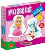 Puzzle dla maluszków królewna - ,