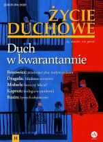 Życie Duchowe nr 104/2020 (Jesień) - Duch w kwarantannie, Jacek Siepsiak SJ (red. nacz.)