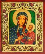 Ikona Matka Boża Częstochowska rama, duża - ,