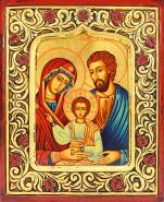 Ikona Święta Rodzina rama, duża - ,
