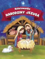 Narodziny Jezusa kolorowanka - ,