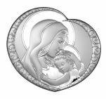 Madonna z Dzieciątkiem obraz srebrny 6563/5 - 6563/5,