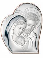 Święta Rodzina obrazek srebrny 81050/2 - 81050/2,