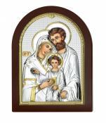 Święta Rodzina obraz srebrny AE0801/4 - AE0801/4,
