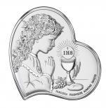 Pamiątka Pierwszej Komunii Świętej dla dziewczynki DS03/3A - DS03/3A,
