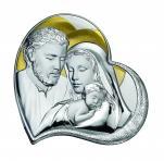 Święta Rodzina obrazek srebrny GF0405/4 - GF0405/4,