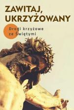 Zawitaj, Ukrzyżowany -  Drogi krzyżowe ze Świętymi, oprac. Robert Krawiec OFMCap, Małgorzata Sękalska