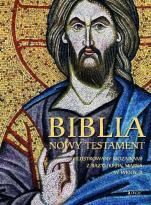 Biblia Nowy Testament album - Ilustrowany mozaikami z bazyliki św. Marka w Wenecji,