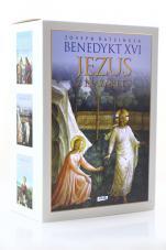Jezus z Nazaretu pakiet - Dzieciństwo, Od chrztu w Jordanie doprzemienienia, Od wjazdu do Jerozolimy dozmartwychwstania, Joseph Ratzinger, Benedykt XVI