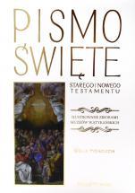 Pismo Święte białe Ilustrowane zbiorami Muzeów Watykańskich - Ilustrowane zbiorami Muzeów Watykańskich,