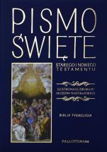 Pismo Święte granatowe Ilustrowane zbiorami Muzeów Watykańskich - Ilustrowane zbiorami Muzeów Watykańskich,