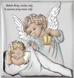 Aniołek z latarenką nad dzieciątkiem Obraz DS15/3C  - DS15/3C ,