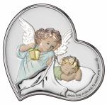Aniołek z latarenką nad dzieciątkiem Obraz DS18/2C - DS18/2C,