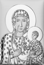 Matka Boska Częstochowska Obraz DS19/3 - DS19/3,