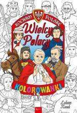 Wielcy Polacy kolorowanka - Kocham Polskę, Łukasz Kosek
