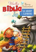 Wielka Biblia, mały ja Nowy Testament - Gra memory i zgadywanka,