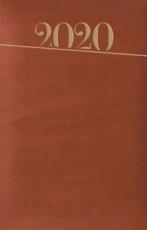 Terminarz A5 Standard brązowy - Na każdy dzień 2020 roku,