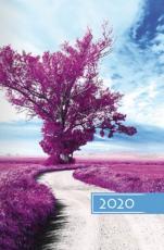 Terminarz B6 Kolorowy - Drzewo - Na każdy dzień 2020 roku,