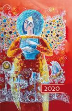 Terminarz B6 Kolorowy - Anioł - Na każdy dzień 2020 roku,