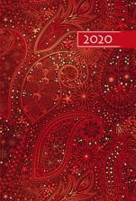 Terminarz B6 Kolorowy - Ornament - Na każdy dzień 2020 roku,