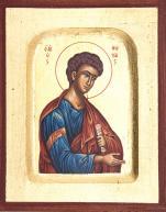 Ikona Święty Tomasz bardzo mała - ,