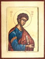 Ikona Święty Tomasz mała - ,