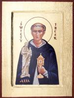 Ikona Święty Jacek mała - ,