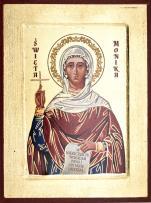 Ikona Święta Monika średnia - ,